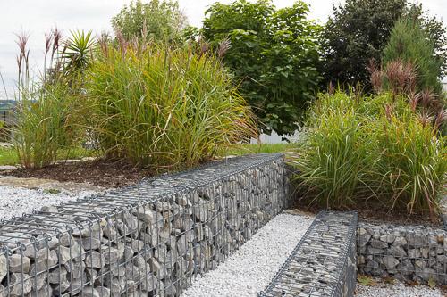 Gabionenwände - Zäune aus Steinen